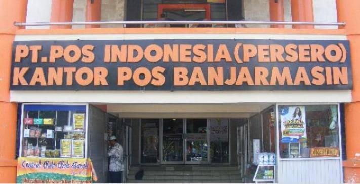 PT POS INDONESIA (PERSERO) BANJARMASIN APRESIASI PROGRAM KEMENSOS